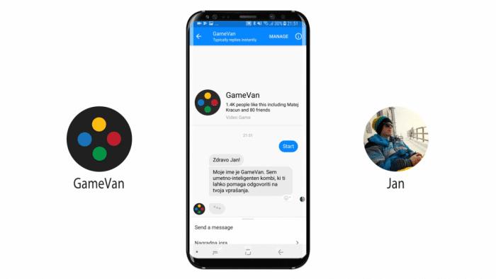 GameVan-Chatbot